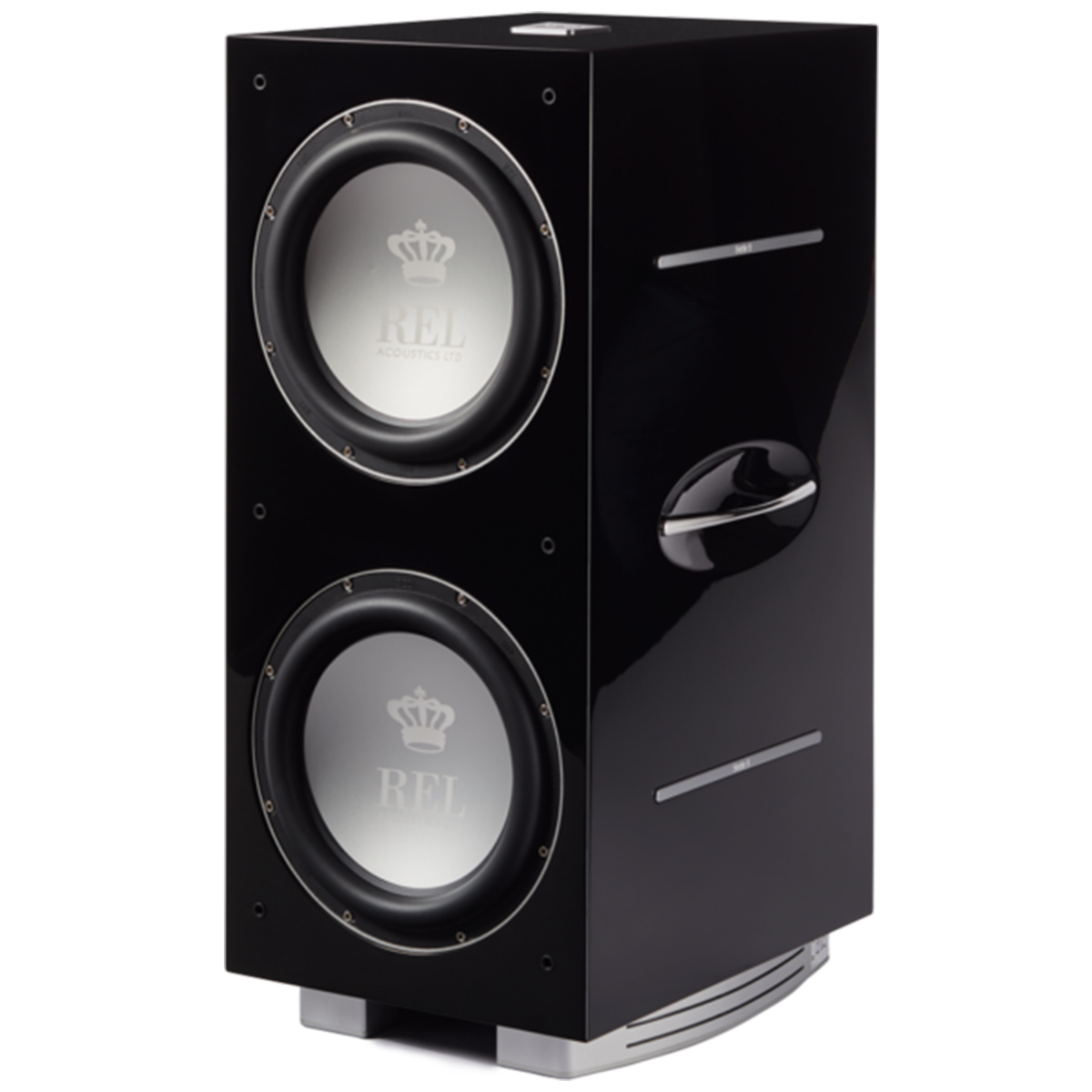 Rel 212:sx Subwoofer Side Angle Life Style Store