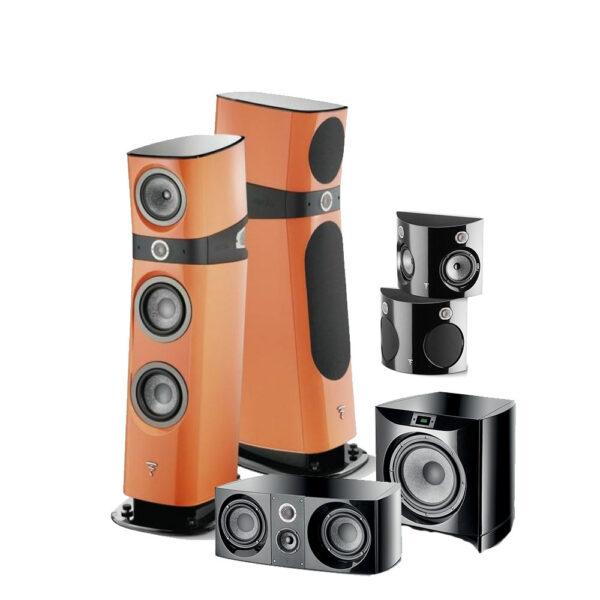 5.1 Sopra Series Focal Floor Standing Speaker Package