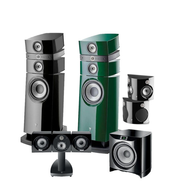 5.1 Stella Utopia Series Focal Floor Standing Speaker Package