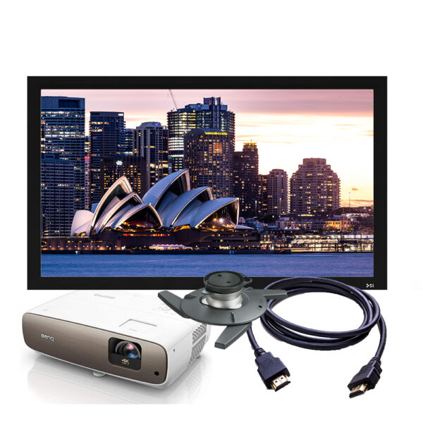 BenQ W2700 Projector & Screen Package