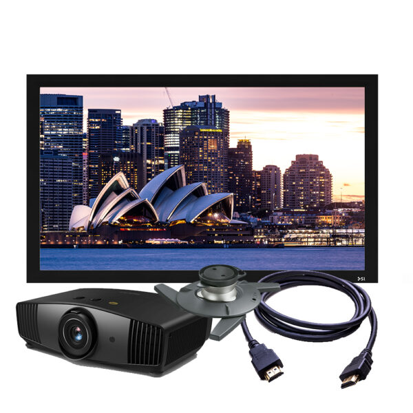 BenQ W5700 Projector & Screen Package