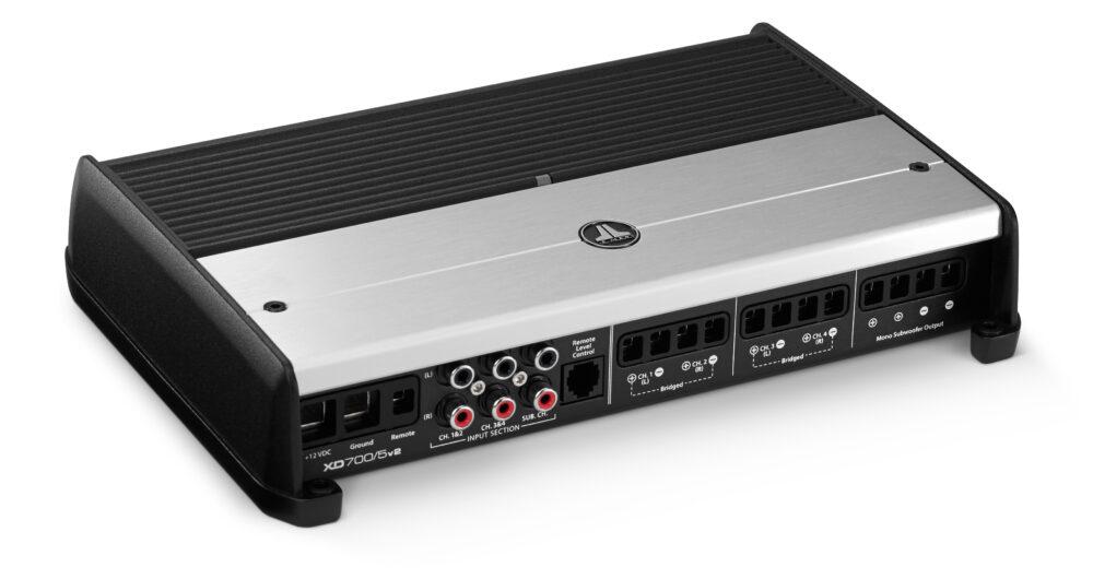JL Audio XD700/5v2 Class D 5-channel 4×5 + 1×300 Watts RMS Amplifier