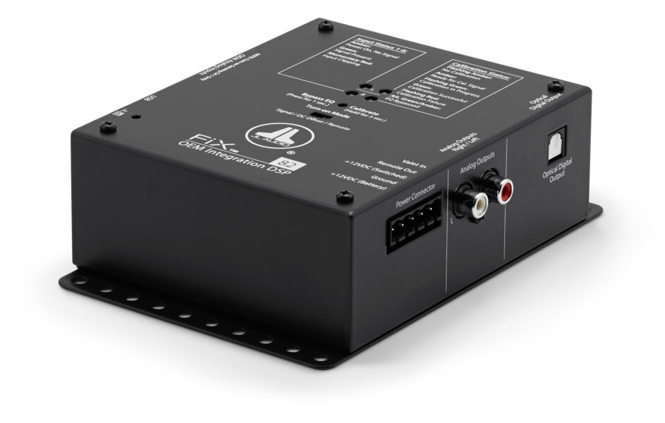 JL Audio FIX-82 OEM Integration DSP with Automatic Time Correction & Amp