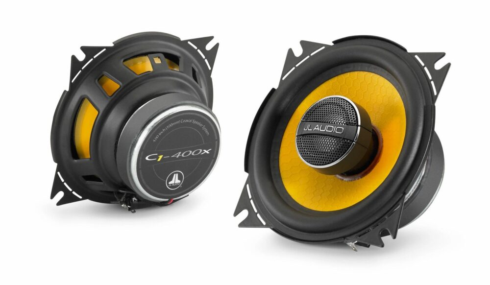 JL Audio C1-400x Coaxial 4-inch (100 mm) 35 Watts RMS Speakers