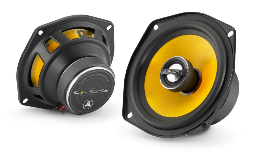 JL Audio C1-525x Coaxial 5.25-inch (130 mm) 50 Watts RMS Speakers