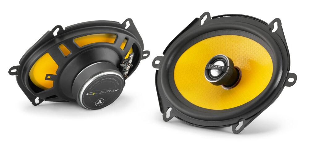 JL Audio C1-570x Coaxial 5 x 7 inch (125 x 180 mm) 50 Watts RMS Speakers