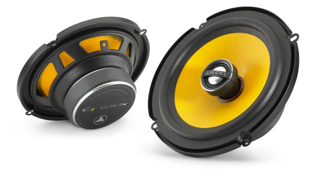 JL Audio C1-650x Coaxial 6.5-inch (165 mm) 50 Watts RMS Speakers