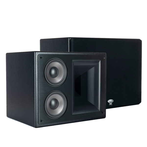 "Klipsch Dual 5.25"" Two-Way THX-5000-LCR Bookshelf Speakers"