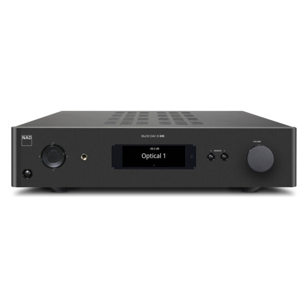 NAD C658 2 Channel Pre-Amplifier | BluOS Streaming DAC