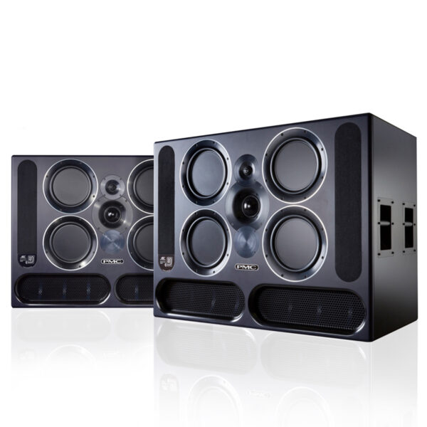 PMC QB1 A 3 Way Active Speakers