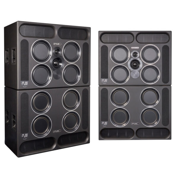 PMC QB1 XBD A 3 Way Active Speakers