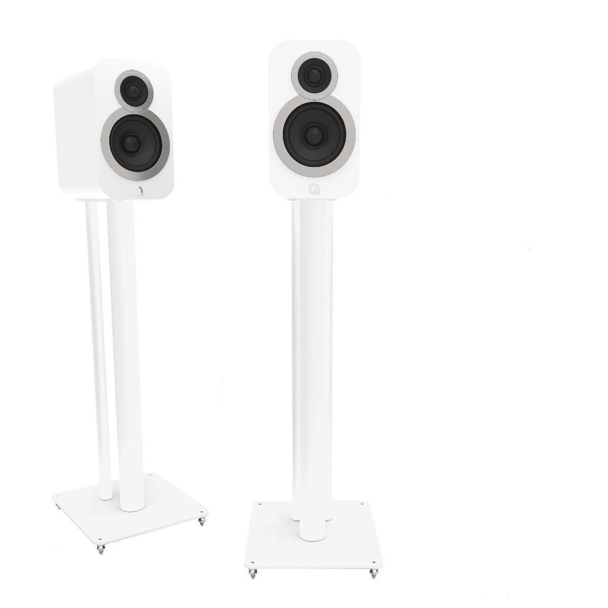 Q Acoustics Q3000fsi White With Speaker Life Style Store