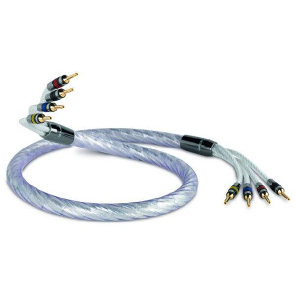 QED Signature Genesis Silver Spiral Bi-Wire Speaker Cable (per metre)