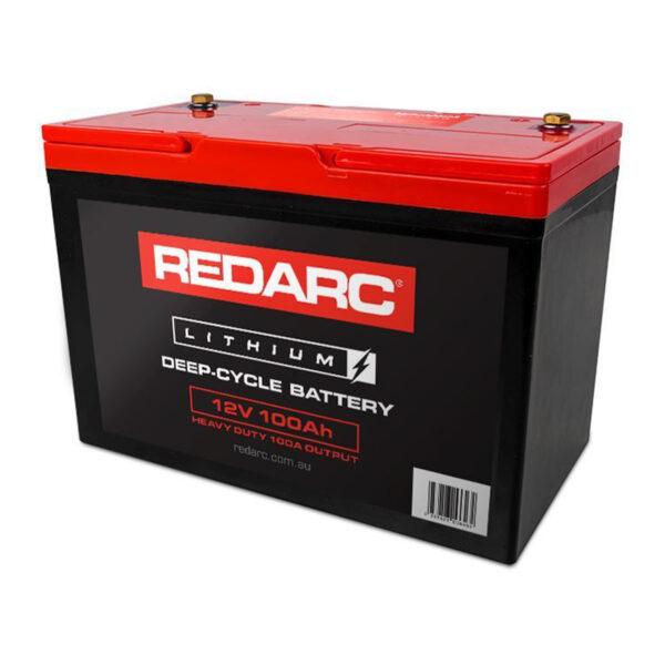 REDARC LBAT12100-HD 100AMP Lithium Battery