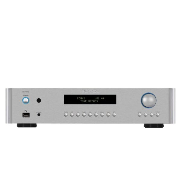Rotel RC1572 MKII Stereo Pre Amplifier with aptX Bluetooth Built-In