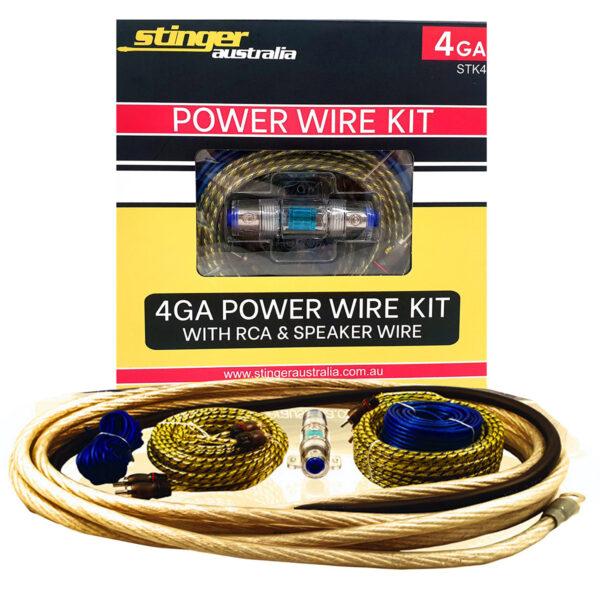 Stinger Australia 4GA Amplifier Wiring Kit