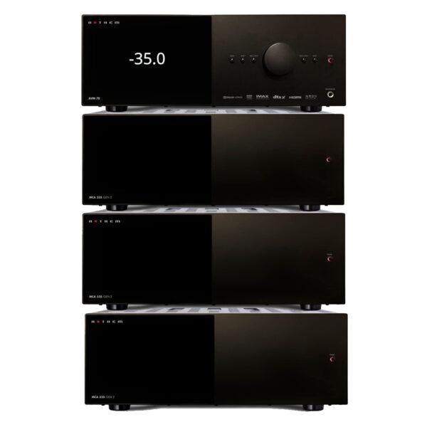 Anthem AVM70 AV Processor + MCA325 + 2 x MCA525 Amplifiers – 13 Channels of Power Package