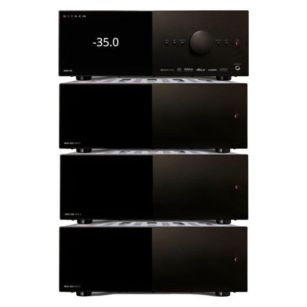 Anthem AVM70 AV Processor + 3 x MCA325 Amplifiers – 9 Channels of Power Package