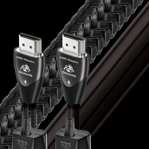 AudioQuest Dragon eARC 48Gbps HDMI Cable