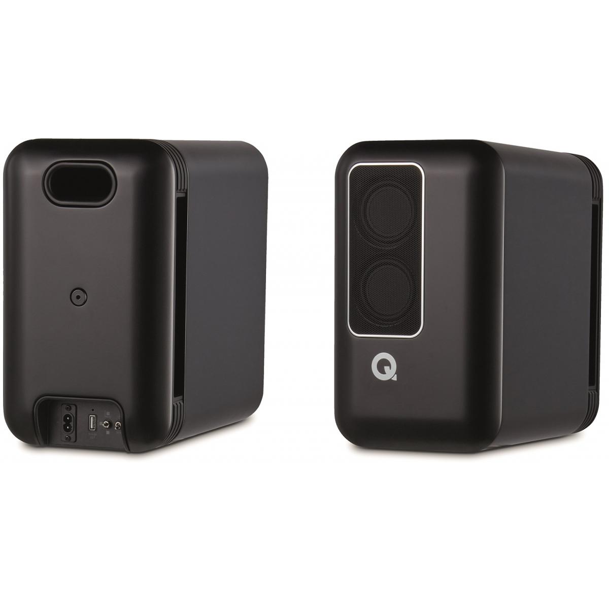 Q Acoustics Q Active 200 Black Pair Life Style Store