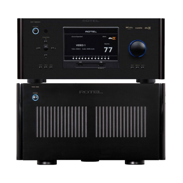 Rotel RAP1580 MkII + RMB1585 – 5 Channels of Power
