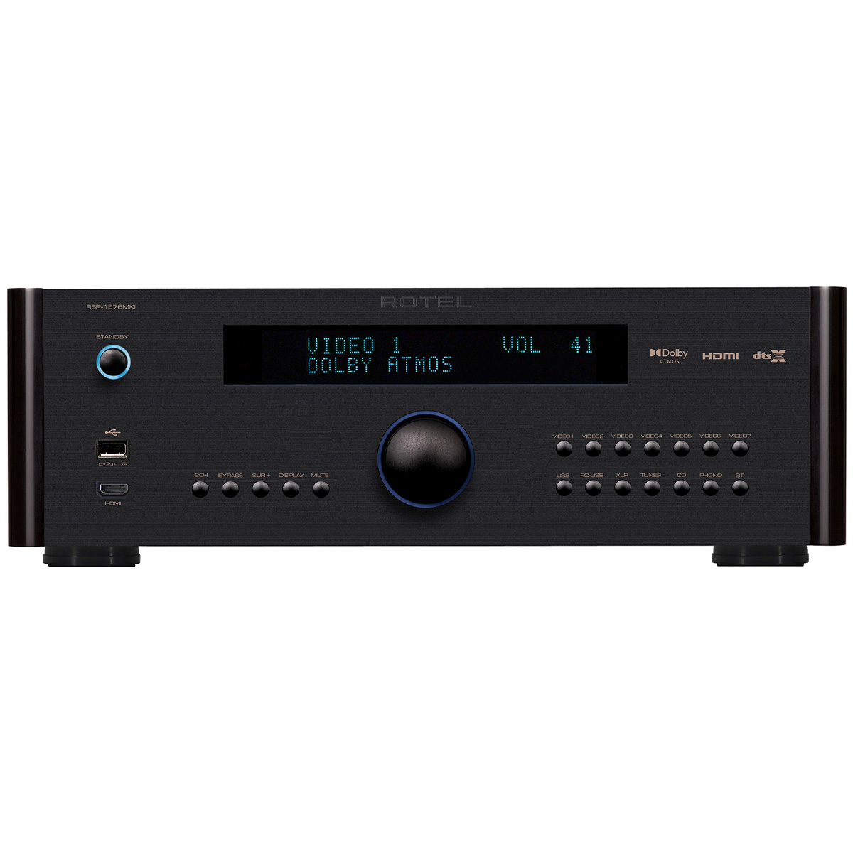Rotel Rsp 1576mkii Front Life Style Store