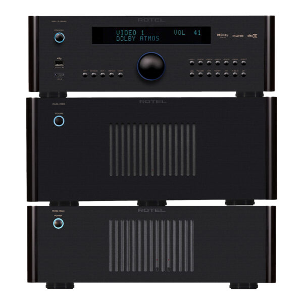 Rotel RSP1576 MkII + RMB1555 + RMB1504 – 9 Channels of Power