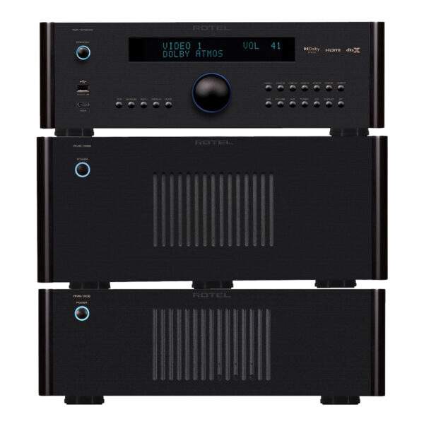 Rotel RSP1576 MkII + RMB1555 + RMB1506 – 11 Channels of Power