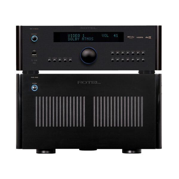Rotel RSP1576 MkII + RMB1585 – 5 Channels of Power