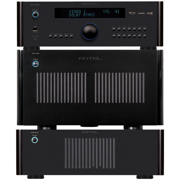 Rotel RSP1576 MkII + RMB1585 + RMB1504 – 9 Channels of Power