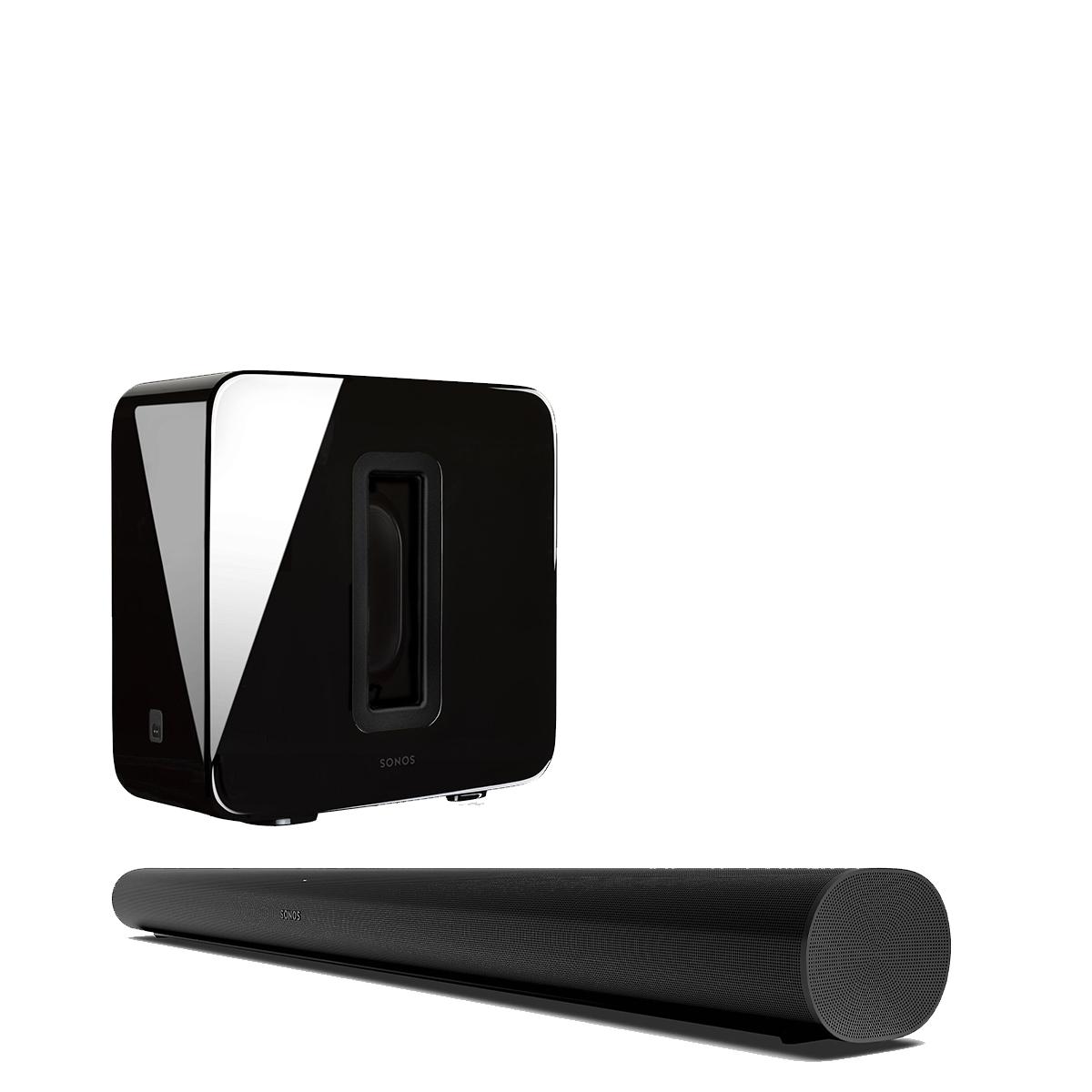 Sonos Arc Sub Pack Black Life Style Store