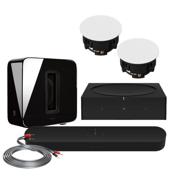 Sonos Beam GEN2 Custom Surround Pack