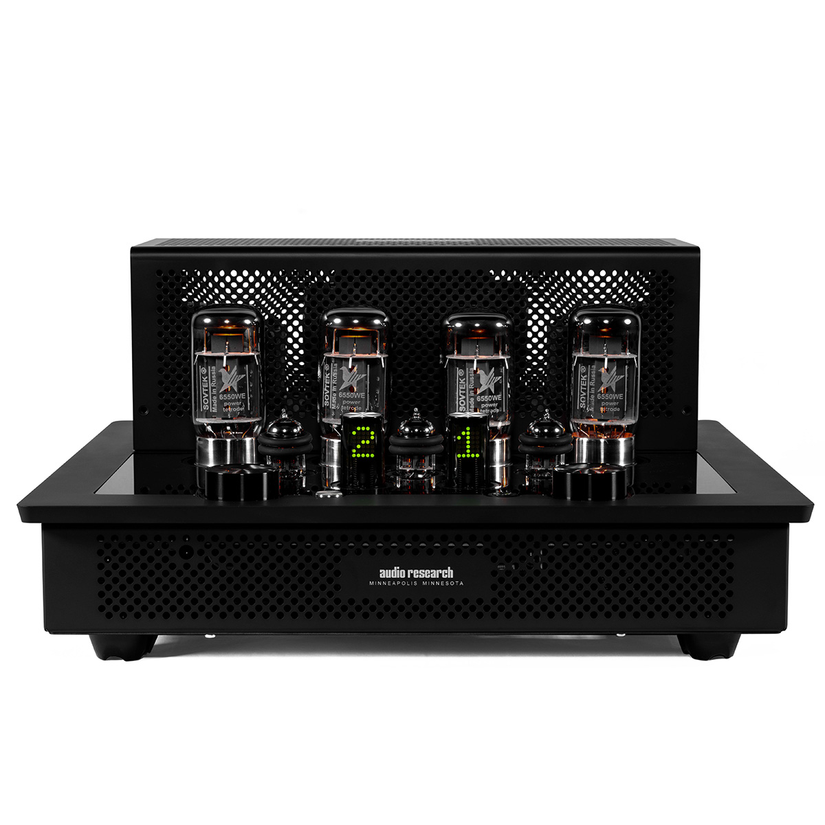 Audio Research I50 Black Front Life Style Store