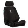 Black Duck Seat Cover Black