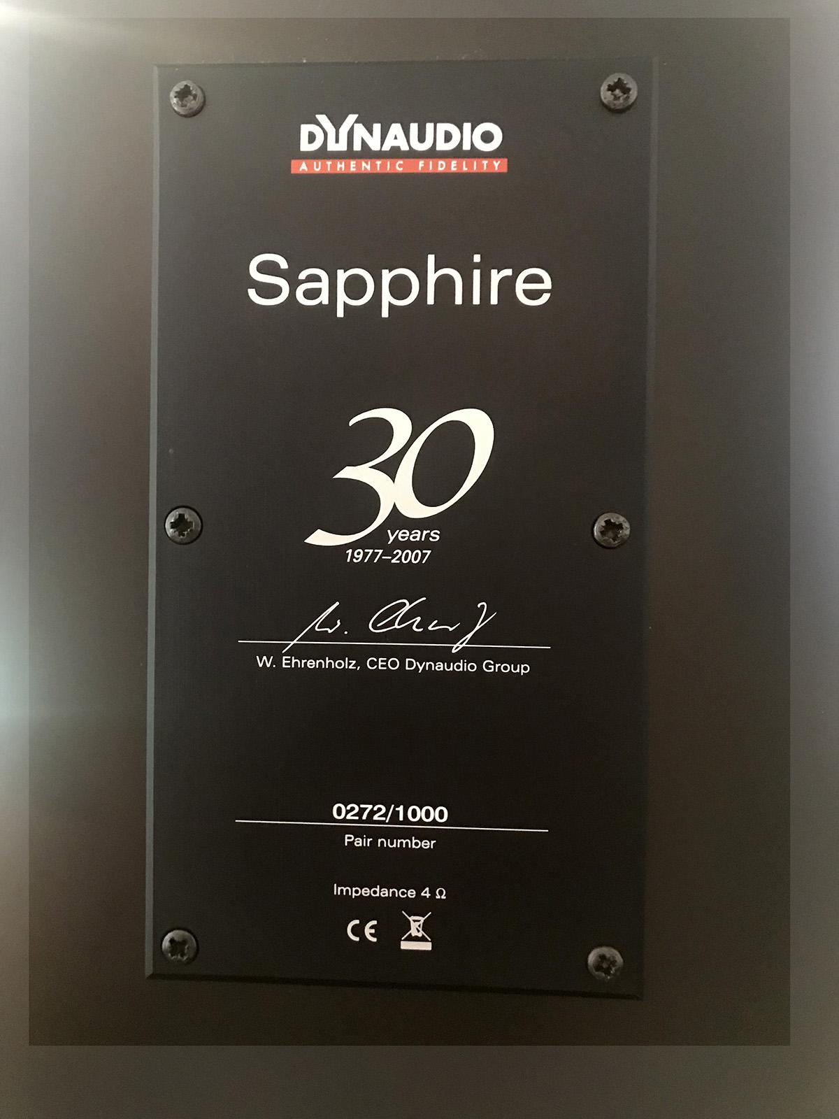 Dynaudio Sapphire F