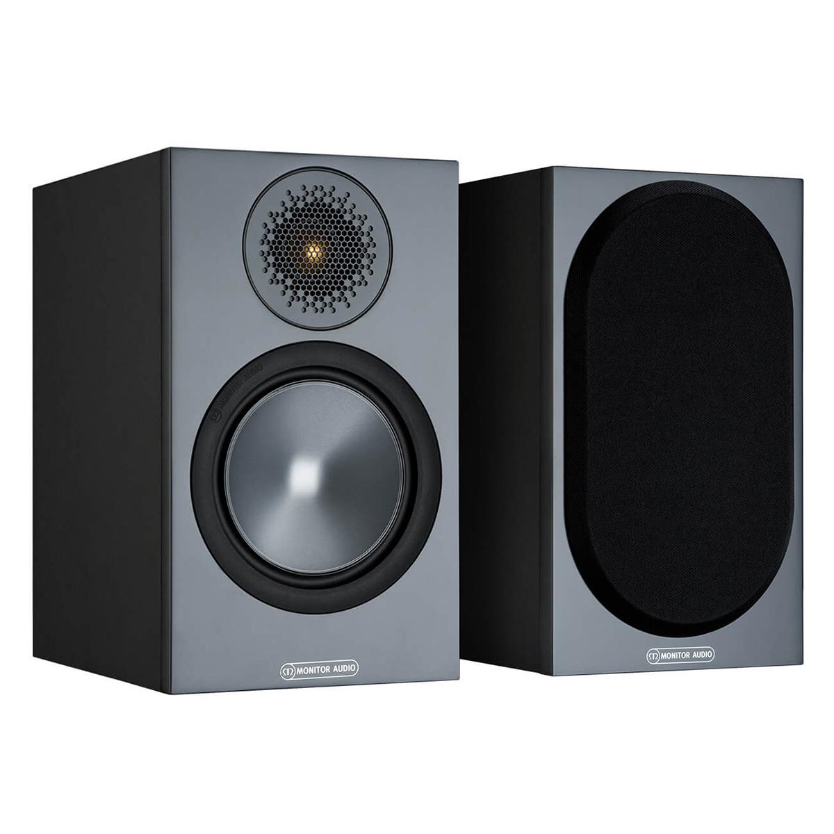 Monitor Audio Bronze 50 Black Pair Life Style Store