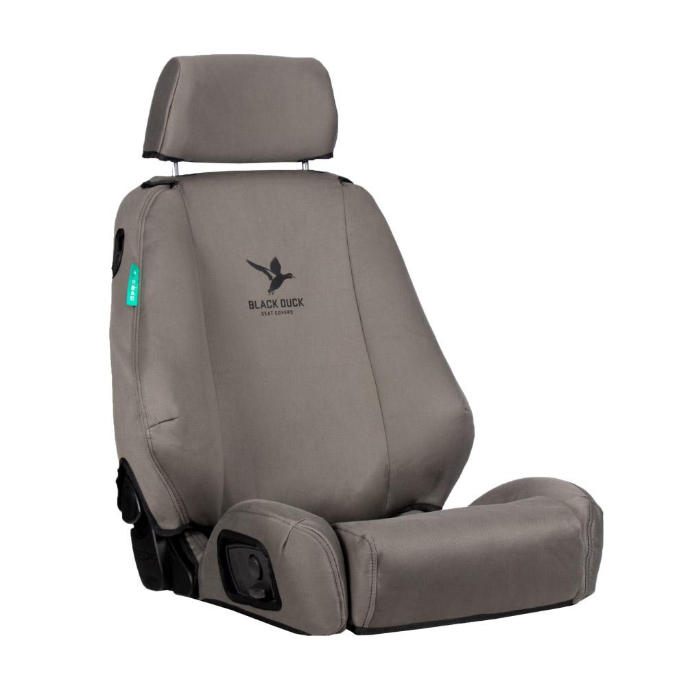 Black Duck Seat Cover Denim Grey, 1000x1000